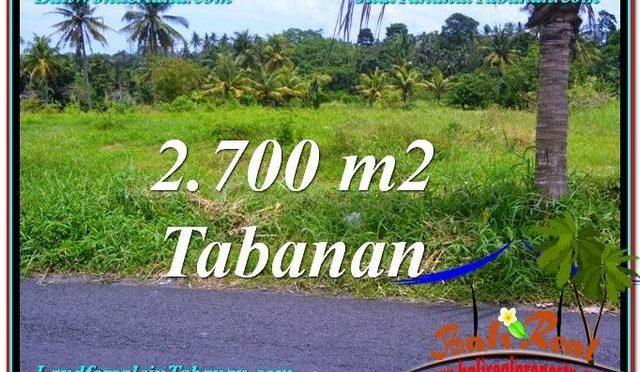 JUAL TANAH MURAH di TABANAN BALI TJTB301