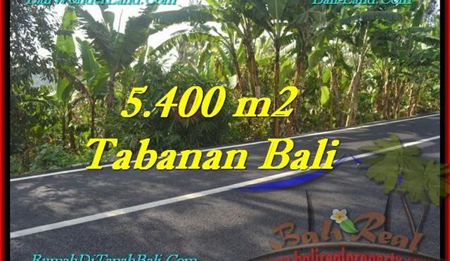 DIJUAL TANAH di TABANAN Untuk INVESTASI TJTB241