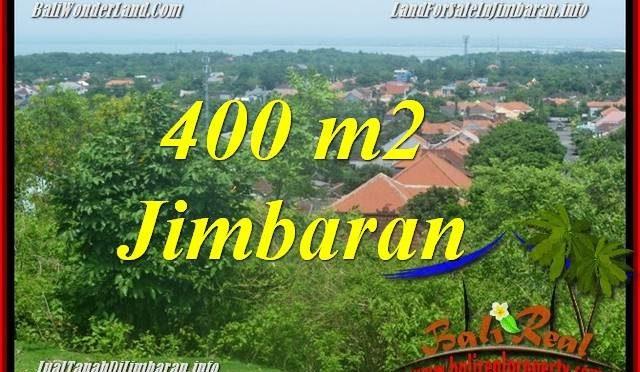 JUAL MURAH TANAH di JIMBARAN BALI 400 m2 Lingkungan Villa, View laut